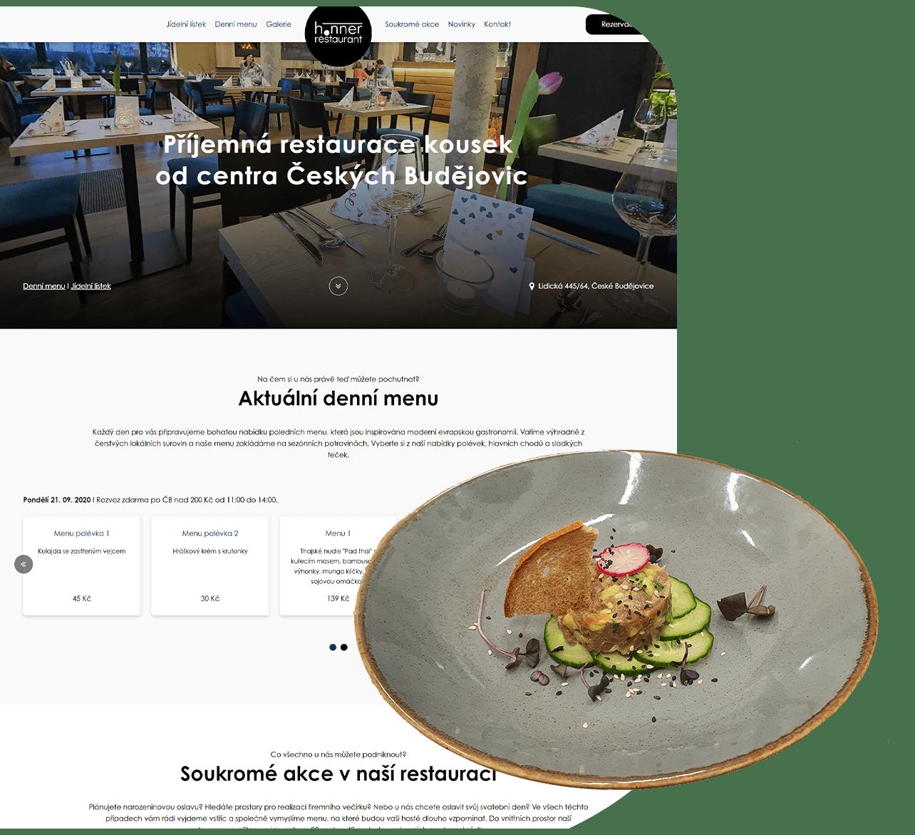 Fotka reference - Restaurace Honner